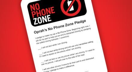 No Phone Zone Pledge