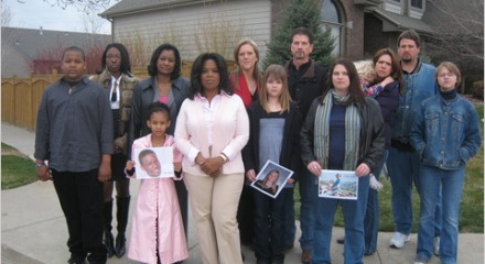 Oprah Winfrey and survivors of distracted-driving accidents